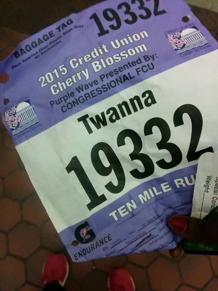I Did it! My Cherry Blossom 10 Miler Race Results