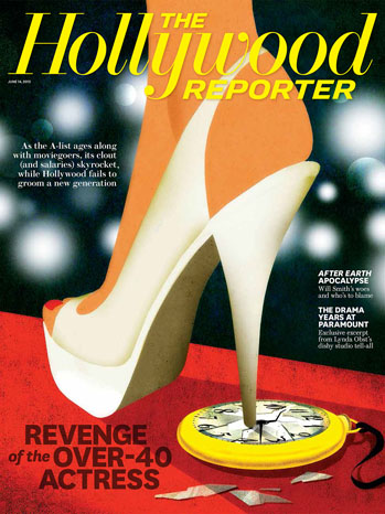 The Hollywood Reporter cover image