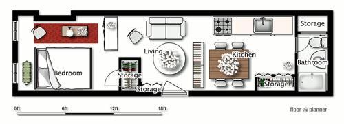 Junior 1-bedroom apartment