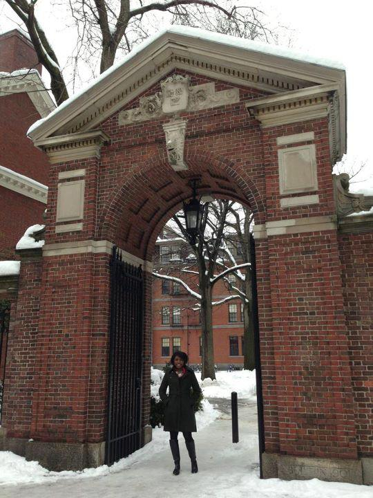 Twanna at Harvard
