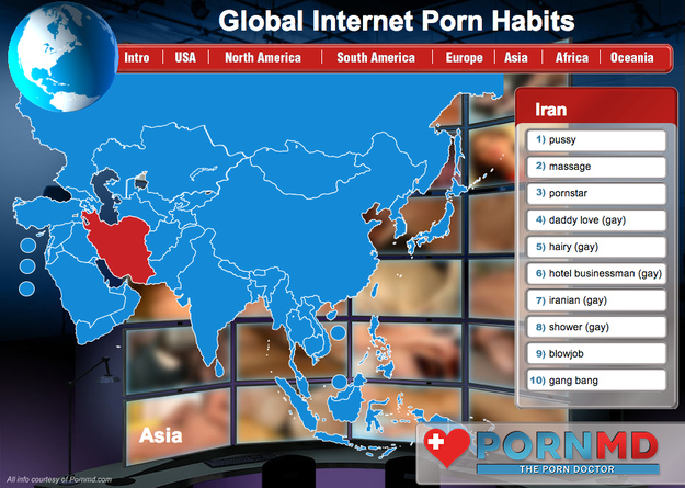 """BuzzFeed's """"Top Porn Search Terms From Each Country"""""""
